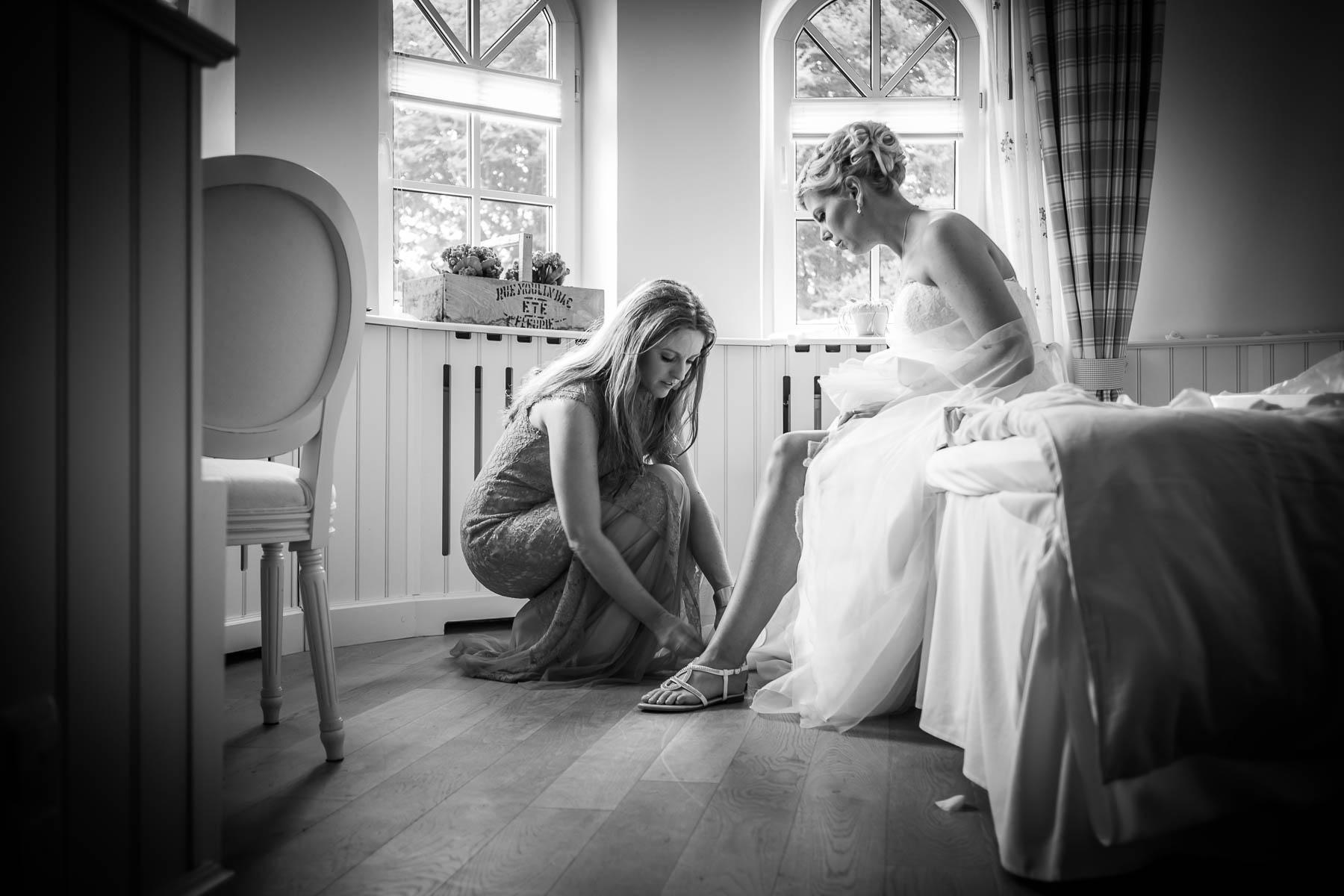 Vorbereitung Braut und Bräutigam Hamburg