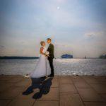 Hochzeitsfotos Elbe Hamburg