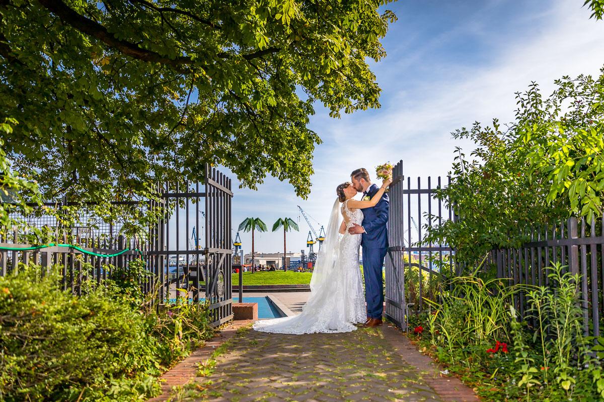 Hochzeitsfotograf Hochzeitsfotos St. Pauli Kirche Hamburg